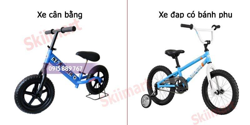 so sánh xe thăng bằng và xe 4 bánh